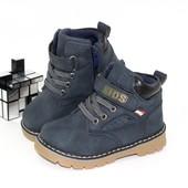 Выкуплены! Стильные деми ботиночки на флисе 26-30р. Отличное качество!