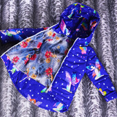 Готовимся к Весне! Деми-куртки для Ваших модниц. Рост 98-104-110-116