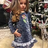 Детское платье из трикотажа высокого качества