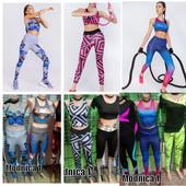 . Фитнес костюмы ,топы ,лосины, футболки 42,44,46,48
