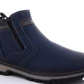 Новинки!!!!! Фото -3 на выкупе.Натуральная кожа!!!!Мужские зимние ботинки!!!