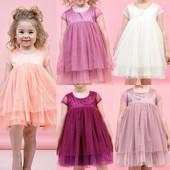 Милое платье для девочки в горошек с хлопковой подкладкой 98-128 Реальные замеры!!! Быстрая отправка