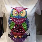 Стильные яркие женские футболки! 3D рисунок! Выкуп каждый день!