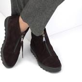 ботинки ботильоны - выкуп готовых изделий на фабрике...от 1шт, ТМ Soldi натуральная кожа и замша