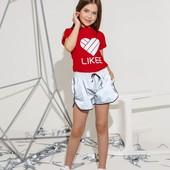 СП Комплект шорты футболка Likee