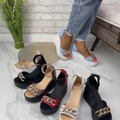 Натуральная обувь! Женские босоножки в ассортименте, цена от производителя,