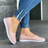 Супер цена!!!Крутые летние туфельки