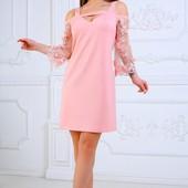 Распродажа только 2 дня. Шикарные стильные платья р 42-48 .Фото 1 р 48 Фото 2 р46,48 в налич.