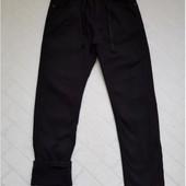 Котоновые брюки на флисе синие и черные Taurus Венгрия