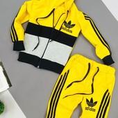 Супер модные и яркие спортивные костюмы для ребят от 74 до 146 см,быстрый сбор+наличие