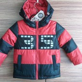 Деми куртка-пуховик р. 110, 116. Цена --320 грн. Качество супер!