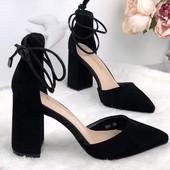 Очень красивые туфли, 4й сбор. Свободны: 23 см, 24 см и 25 см