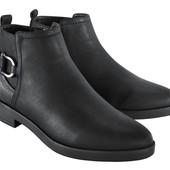 Акция! 36-37-38-39-40-41 Esmara®Германия ботиночки шикарные на молнии оригинал
