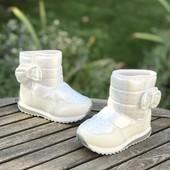 В наличии !! Зимние дутики, сапожки, чобітки jong golf новая модель для девочек 4 модельки