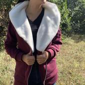 Теплая женская куртка-косуха 42р -52р