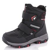 Зимние термо ботинки для мальчиков 27-32 и 36- 41