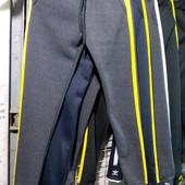 Сп. спортивные штаны женские . На флисе . Реал фото и замеры ,наличие и сбор