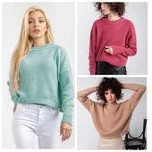 Стильные теплые свитера / джемпера от производителя.