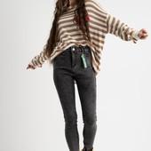 Супер стрейчевые джинсы 25-30 на байке.