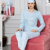 Утепленные женские пижамы, домашние костюмы хлопок, термоткань, флис - вельвет