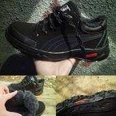 Лучшая мужская зимняя обувь - 300 грн - прошита, густой мех, протекторные подошвы