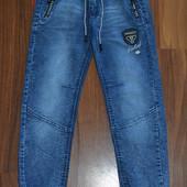 Деми джинсовые джоггеры для мальчиков.Размеры 134-164 см.Венгрия