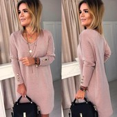 Женское ангоровое платье S,M,L,XL