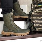 Берцы и ботинки очень удобные из натуральной кожи