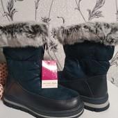 Зимние сапожки для девочек от 27 размера до 37 на выбор