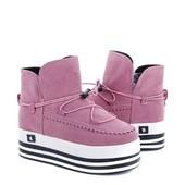 Ботинки женские стильные , цвет как на фото