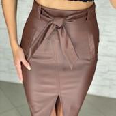 Женские юбки эко-кожа люкс качество