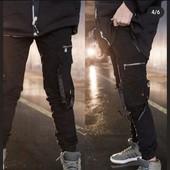 Котоновые брюки-джоггеры с накладными карманами для мальчиков 134-164 Grace В наличии 146