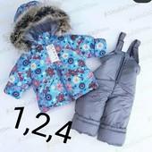 Зимние комбинезоны и куртки для мальчиков и девочек