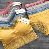 Комплект белья трусики и топ разные цвета и модели цена 175 грн или 300 грн за два комплекта
