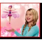 Летающая кукла фея с зарядкой от USB Крутой подарок девочке.