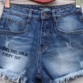 Шорти джинс та трикотаж по 58р дивіться фото
