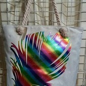 Яркие стильные сумки для пляжа!Очень много моделей!Качество супер!Турция!