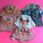 Панамки кепки для мальчиков и девочек выкуплены