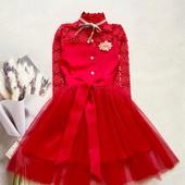 Шикарные нарядные платья на девочек,сбор, остатки