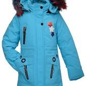 Распродажа зимних курток для девочек!!