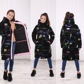 Пальто зимнее люкс класса от 104 до 164 р, новинка зимы,теплые,модные качество на высоте