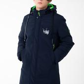 Куртка-парка зимняя для мальчиков от 140 до 176 р, качество,теплая, тренд