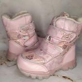 Зимние ботинки 27-32р. Остатки в наличии+ новый сбор