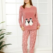 Пижама теплая велсофт.Люкс качество